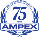 Excellence at the Edge 75 years AMPEX